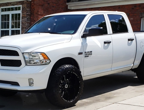 Clarence's 2019 Ram 1500 with 22×12 Gunslingers