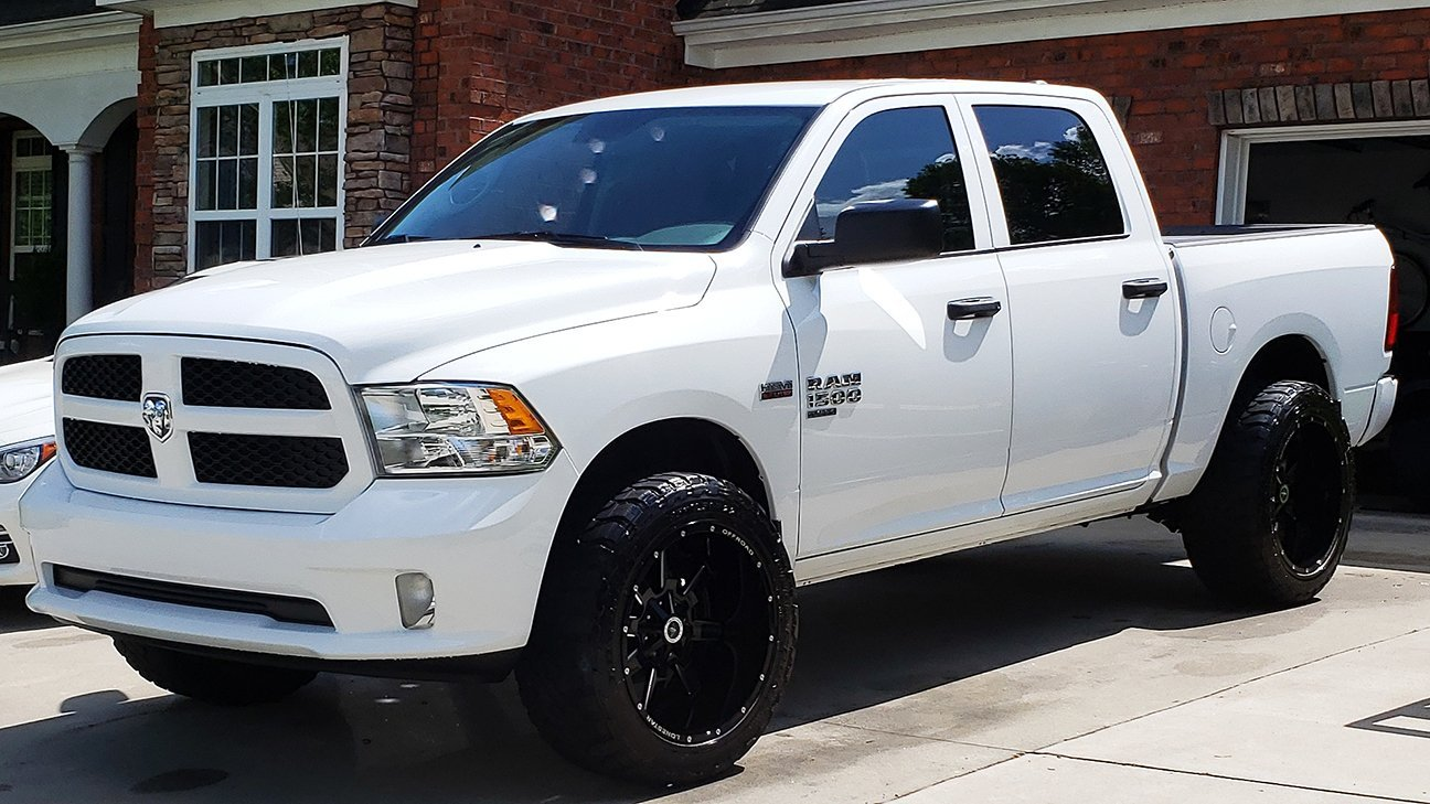 "Clarences 2019 Ram 1500 with 22"" Lonestar Gunslingers"