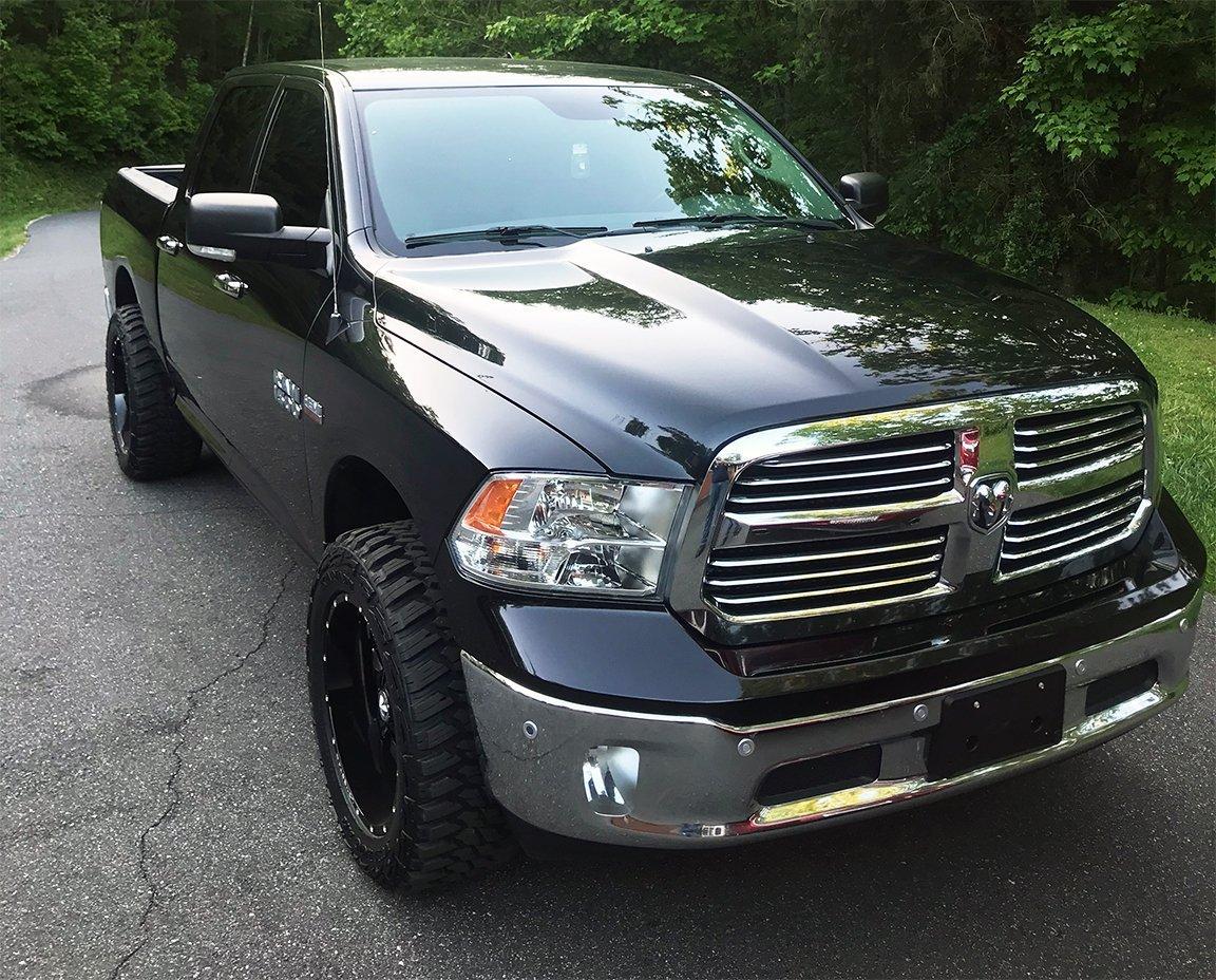 Codys 2016 Ram with 20x10 Lonestar Gunslinger Wheels