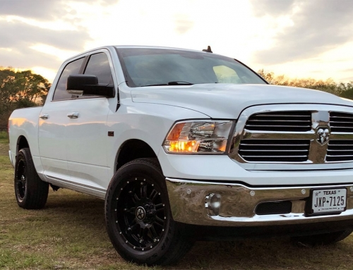 Ronnys 2017 Ram with 20×9 Lonestar Ambush Wheels